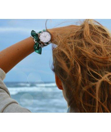 Bracelet montre foulard
